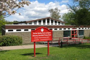 Stretton Handley Primary School in Spring