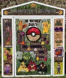 Brackenfield well dressing 2017