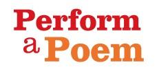Perform a Poem
