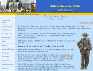 Primary homework help world war 2