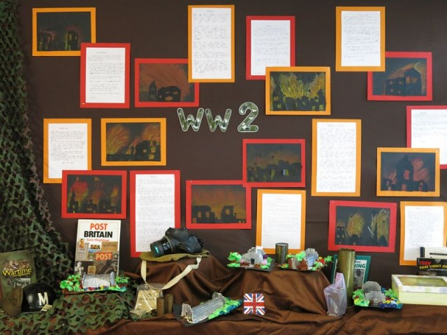 Class 3 WWII Display